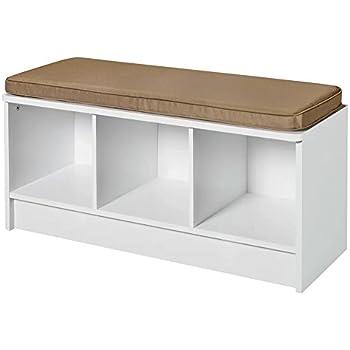 Amazon Com Entryway Storage Bench Hallway Organizer