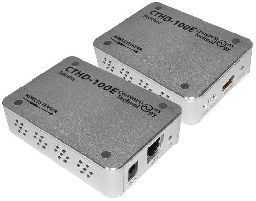 Conversions Technology CT-HD100-E 330-feet HDMI Extender Over Cat5e/6 by Conversions Technology