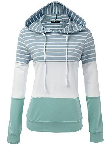 Spandex Striped Sweater - 5