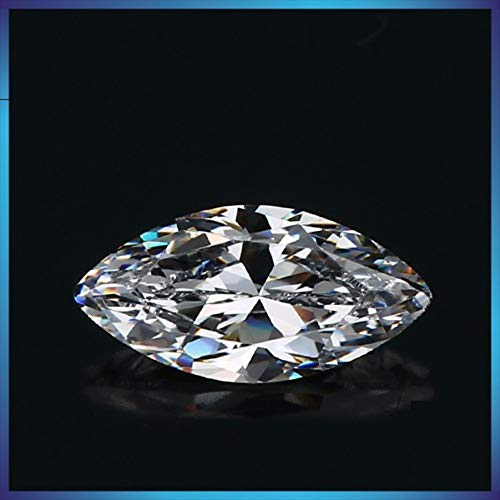 4ct 8mmx16mm Marquise Cut stone.Outshines Diamonds and Moissanite,Loose stone