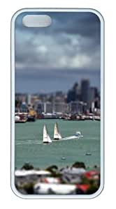 Apple iPhone 5S Cases - Its A Small World TPU Case Cover for iPhone 5S and iPhone 5 - White