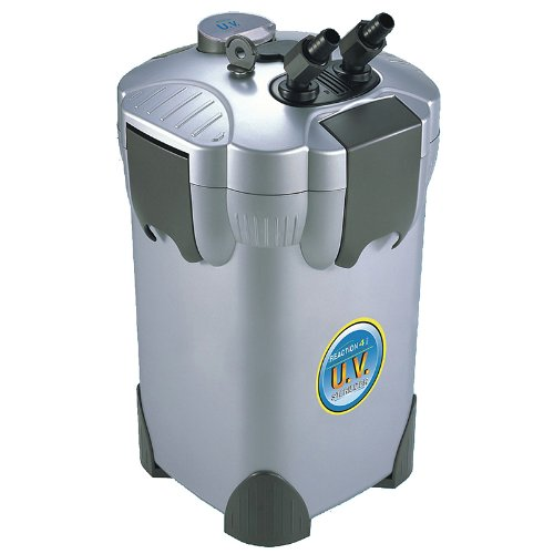 JBJ 4-Stage Reaction Canister Filter with UV Sterilizer f...