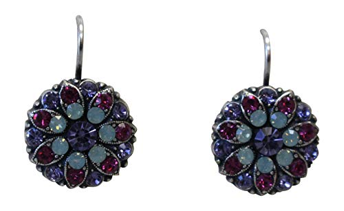 Mariana Forever Young Flower Swarovski Crystal Earrings 687 ()