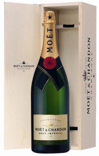 Moet & Chandon Brut Impérial Champagner 12% Méthusalem 6l Fl. in Holzkiste