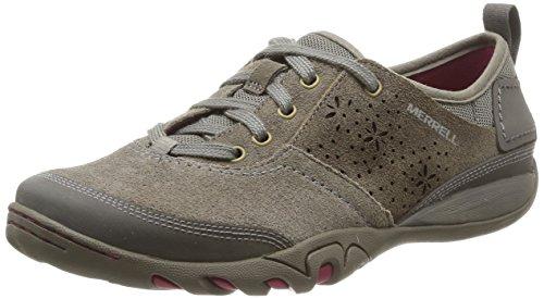 cuero Merrell de Brindle de gris Cordones Zapatos Hope Mimosa mujer BOnWaxwB