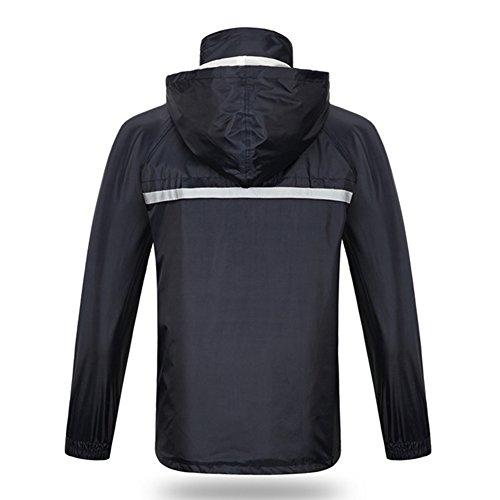 Marin Xjlg Xxl Cyclisme Imperméable Costume couleur De Bleu poncho Marin Plein Air Sports Taille OO7Rn1