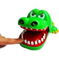 Andensoner Big Mouth Crocodile Bite Finger Divertido Juguete Educativo para Padres e Hijos