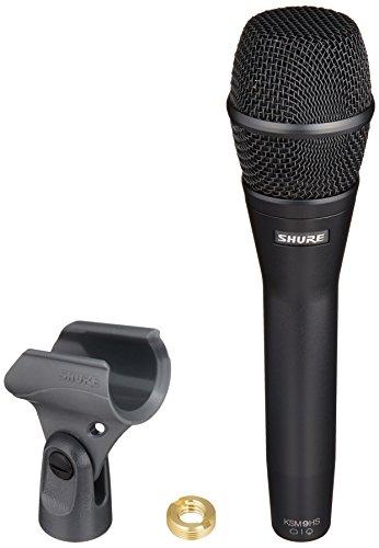 - Shure KSM9HS Dual-Diaphragm Condenser Handheld Vocal Microphone