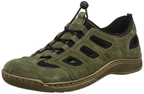 Josef Seibel Herren Milo 03 Sneaker, Grün (Moos-kombi)