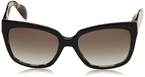 Black Negro Prada 07PS Topo PR Havana Medium Sonnenbrille Gray ZBBgzX