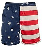 Polo Ralph Lauren Men's Prepster American Flag 6' Swim Trunk-A-L