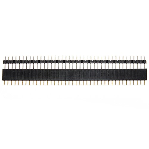40 Pin 2.54mm Male Female SIL Socket Row Strip PCB...