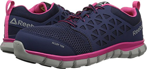 te Cushion Work RB046 Boot, Navy Pink, 7.5 M US ()
