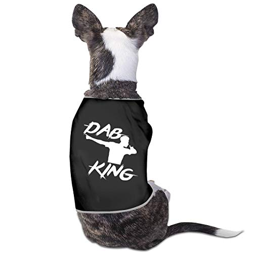 - RSADGER Pet Clothing Paul Pogba DAB Printed T Shirts Dogs Summer Vest Puppy Pet Shirt