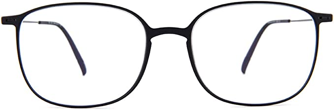 Eyeglasses Silhouette Urban NEO Full Rim 2907 9040 pure black 53/18/150 3 piece