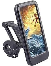 JJvKa Universele telefoonhouder voor op de fiets, 360 graden draaibaar, verstelbaar, voor smartphones van 3,5 tot 6,8 inch