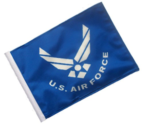 SSP Flags Licensed U.S. Air Force Motorcycle Flag - Small 6 x 9 inch Flag SSP Flags Inc