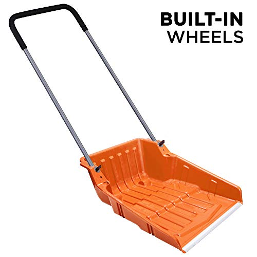 Ivation Snow Pusher Scoop