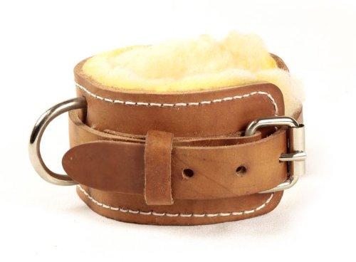 Ironcompany USA Made Leather Sheepskin Lining