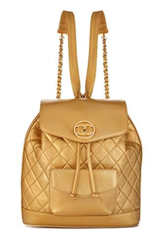 Chanel Gold Handbag - 6
