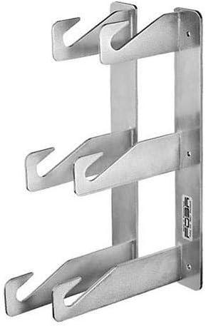 Foba DORPO Triple Hook Strips for Wall//Ceiling Mount Set of 2