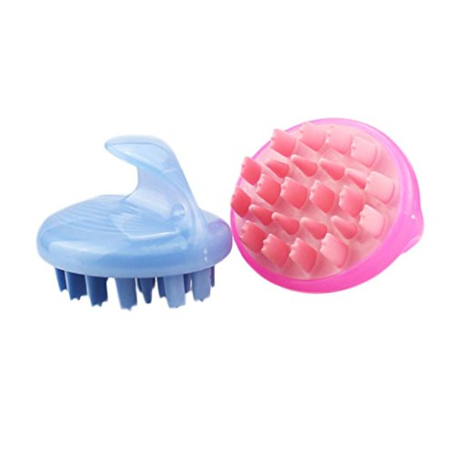 Price comparison product image Mchoice Hair Shampoo Scalp Brush Body Massage Brush Comb Conditioner Clean Head Care