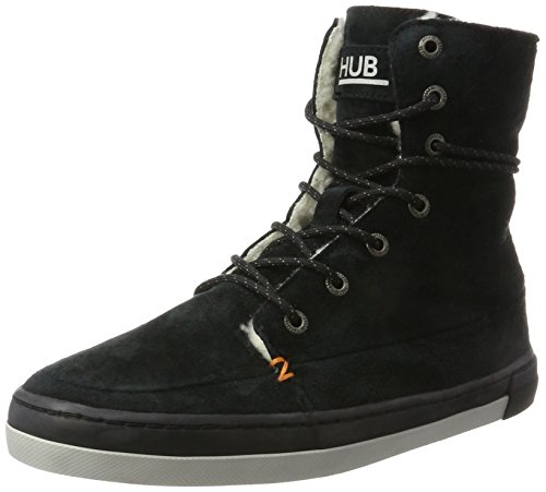 Altas para Grey Mujer neutral Black N30 706 Black Negro Hub High Zapatillas Vermont wxBOOqCH