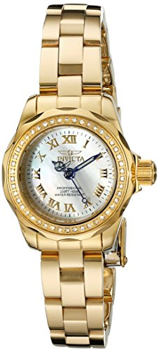 Invicta Women's 15519 Wildflower Analog Display Swiss Quartz Gold Watch