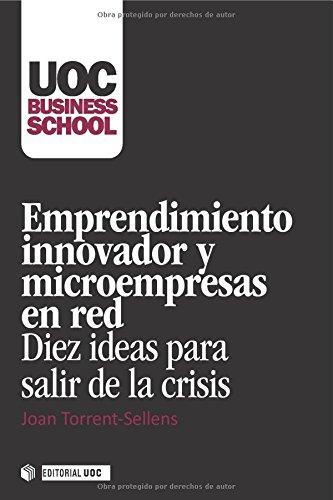 Descargar Libro Emprendimiento Innovador Y Microempresas En Red Joan Torrent I Sellens