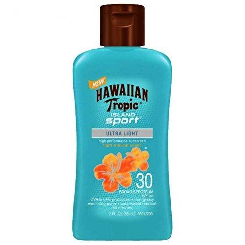 Hawaiian Tropic Island Sport SPF 30 Sunscreen Travel Size, 2 oz (Pack of 6) ()