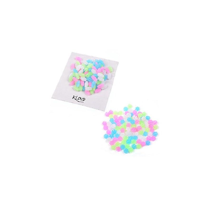 KLOUD City® Assorted Colors Bike Bicycle Wheel Spokes Luminous Plastic Clip Bead/ Spoke Decorations