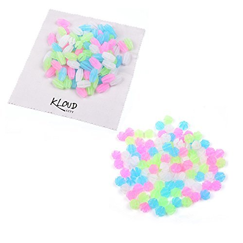 KLOUD City® Assorted Colors Bike Bicycle Wheel Spokes Luminous Plastic Clip Bead/ Spoke Decorations