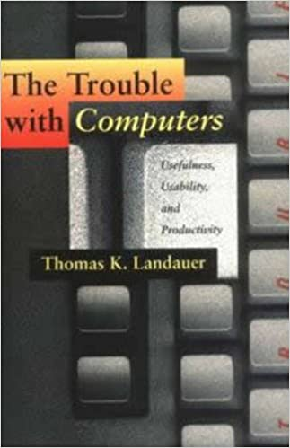 amazon the trouble with computers usefulness usability and