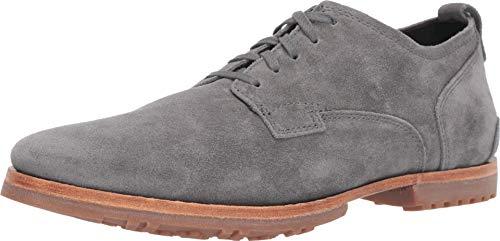 Timberland Men's Boot Company Bardstown Plain Toe Oxford Medium Grey Suede 10 D US (Best Dress Shoe Companies)