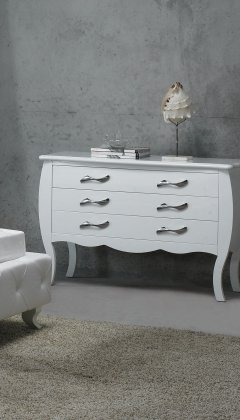 VIG Furniture VGKCMONTE-WHT-DR Modrest Monte Carlo White by VIG Furniture