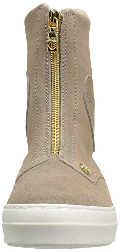 Women's Sneaker Love Fashion Boot Moschino Beige Suede TOBqBR5xw