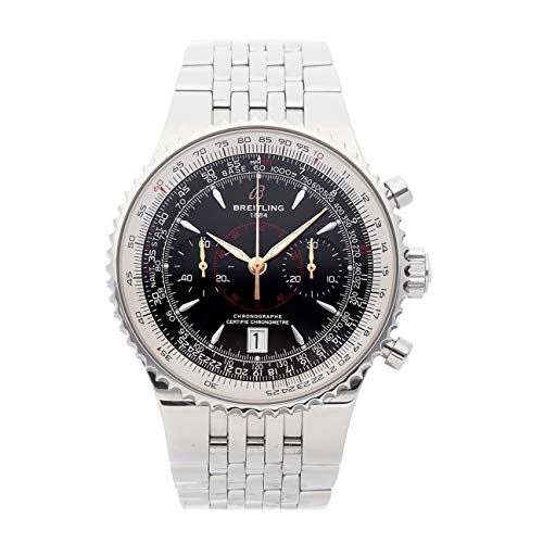 Breitling Montbrillant Mechanical (Automatic) Black Dial Mens Watch A2334021/B871 (Certified Pre-Owned) ()