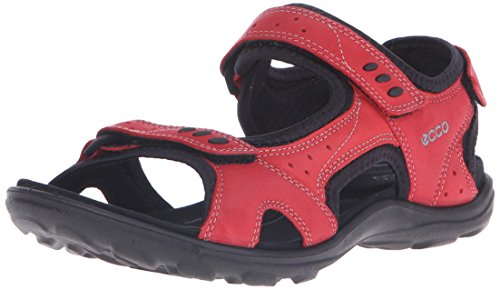 Ecco Womens Kana Sport Sandal Chili Red