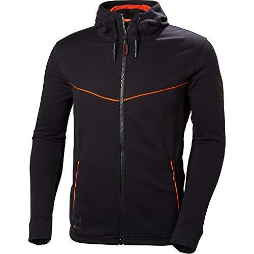 Black Hooded Full Work Helly Hansen Chelsea Mens Zip Evolution Hoodie Jacket qCIx6xvYw0