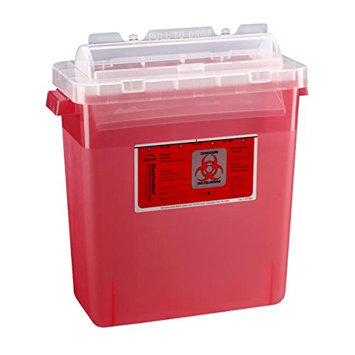 Bemis Healthcare 333 020 Bemis Healthcare Quality Medical Products Needle Disposal Products- 3 Gallon Sharps Container/Rotating Lid - Product Number : #333 020 ()