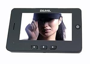 HD Digital LCD BAIMIL WKDV-07A 10,92 cm Celloexpress mirilla con timbre y detección de movimiento negro