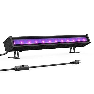 Onforu 24W UV LED Black Light Bar (Renewed)
