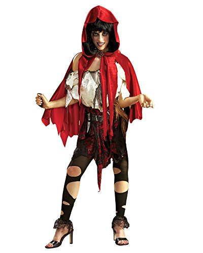 Plus Size Lil Dead Riding Hood Gothic Red Riding Hood Theatre Costumes Sizes: One Size