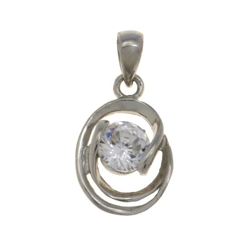Necklace Pendant For Women Silver Chain Handmade Indian Jewelry - Gifts For Wife