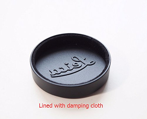 JFOTO Qb-C Metal Black Lens Cap Cover for Leica L39 E39 39mm Summicron Summaron Tinra 35/2 M50/2, Internal Diameter 42mm(1.65in)