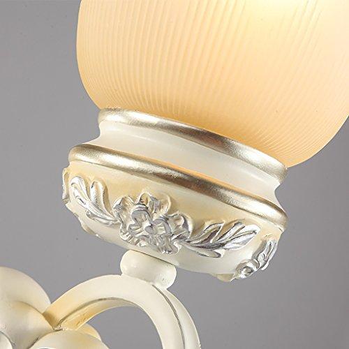 Retro Luxury Crystal Wall Lamp Bedroom Bedside Lamp Living Room Decorative Lighting Stairway Lights Lights House Wall Decoration ( Size : A ) by Crystal (Image #3)