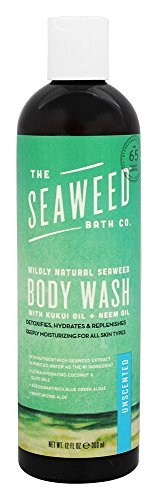 Seaweed Body Wash, Unscented, The Seaweed Bath Co.