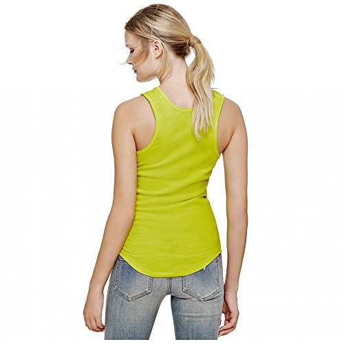 Top Guess Vip Lounge Tank Jaune