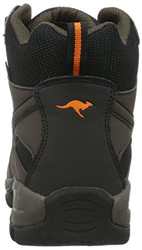 Kangaroos Men's K-Outdoor 8089 Hiking Boots Brown (Dk Brown/Orange 370) 6kFrgxxBV