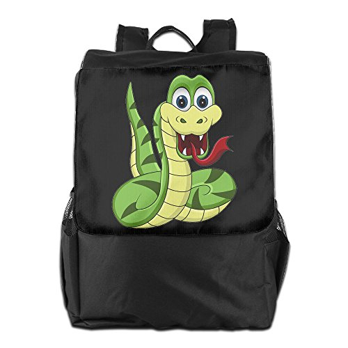 [Dalin Cartoon Snake School Travel Laptop Shoulders Backpack Bag] (Lady Gaga Costumes Ahs)